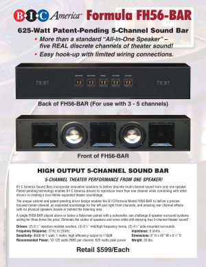 BIC Formula FH56-BAR Soundbar 6