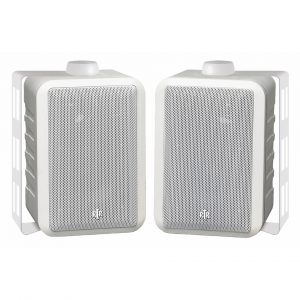RtR V44-2 white outdoor speakers