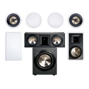 Formula 7.1 FH-8W-12 System - 1600W 7.1 Home Theater System