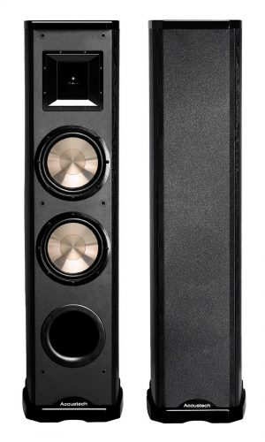 "Acoustech PL-89II - 600W 2-Way Tower Speaker w/Lacquer & Dual 8"" Woofers, 6 1/2"" Horn Tweeter"