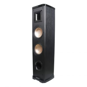 "Acoustech PL-89II - 600W 2-Way Tower Speaker w/Lacquer & Dual 8"" Woofers, 6 1/2"" Horn Tweeter 3/4 view"