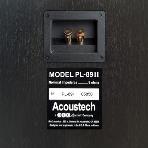 Acoustech PL-89II - 600W 2-Way Tower Speaker rear detail view