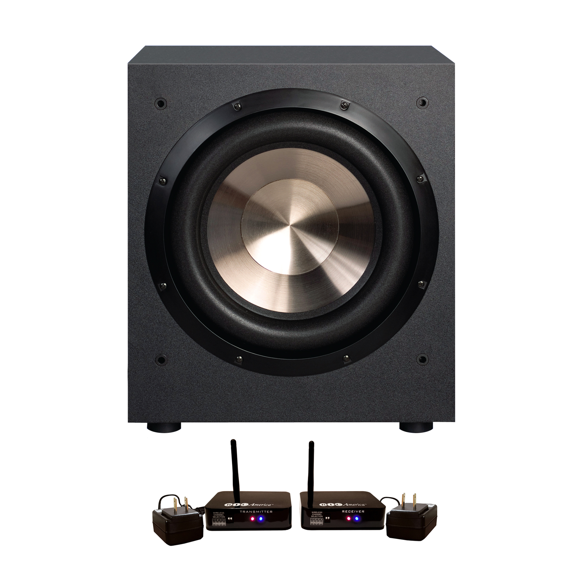 """NEW High Quality Sound 475 Watt Amplified Powered 12/"""" Subwoofer Low-Frequency"""